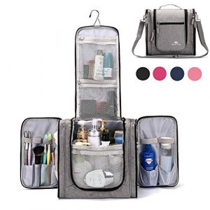 Large Hanging Travel Toiletry Bag for Men and Women Waterproof